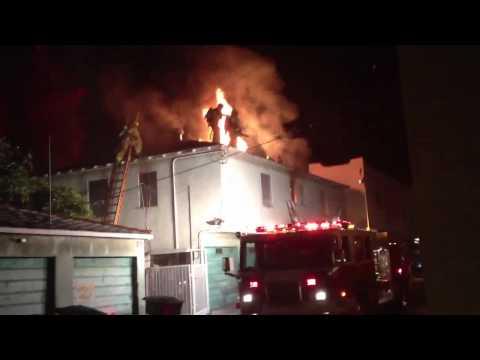 Santa Monica Apartment Fire