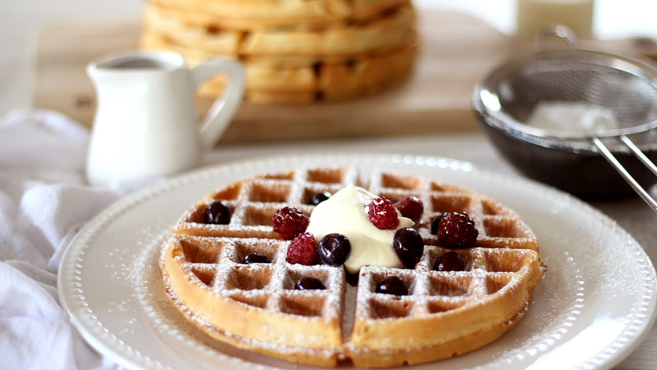 Belgian Waffle Recipe | How to Make