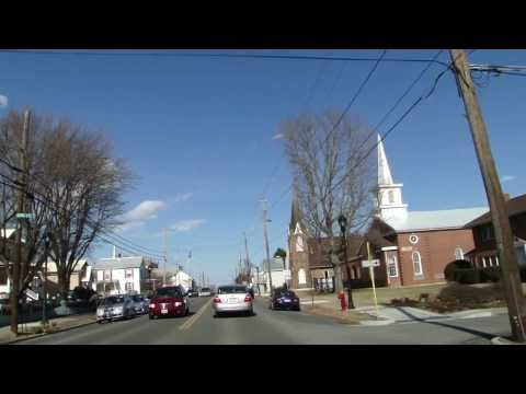 Driving Scenic Route 11 in Shenandoah Valley Virginia