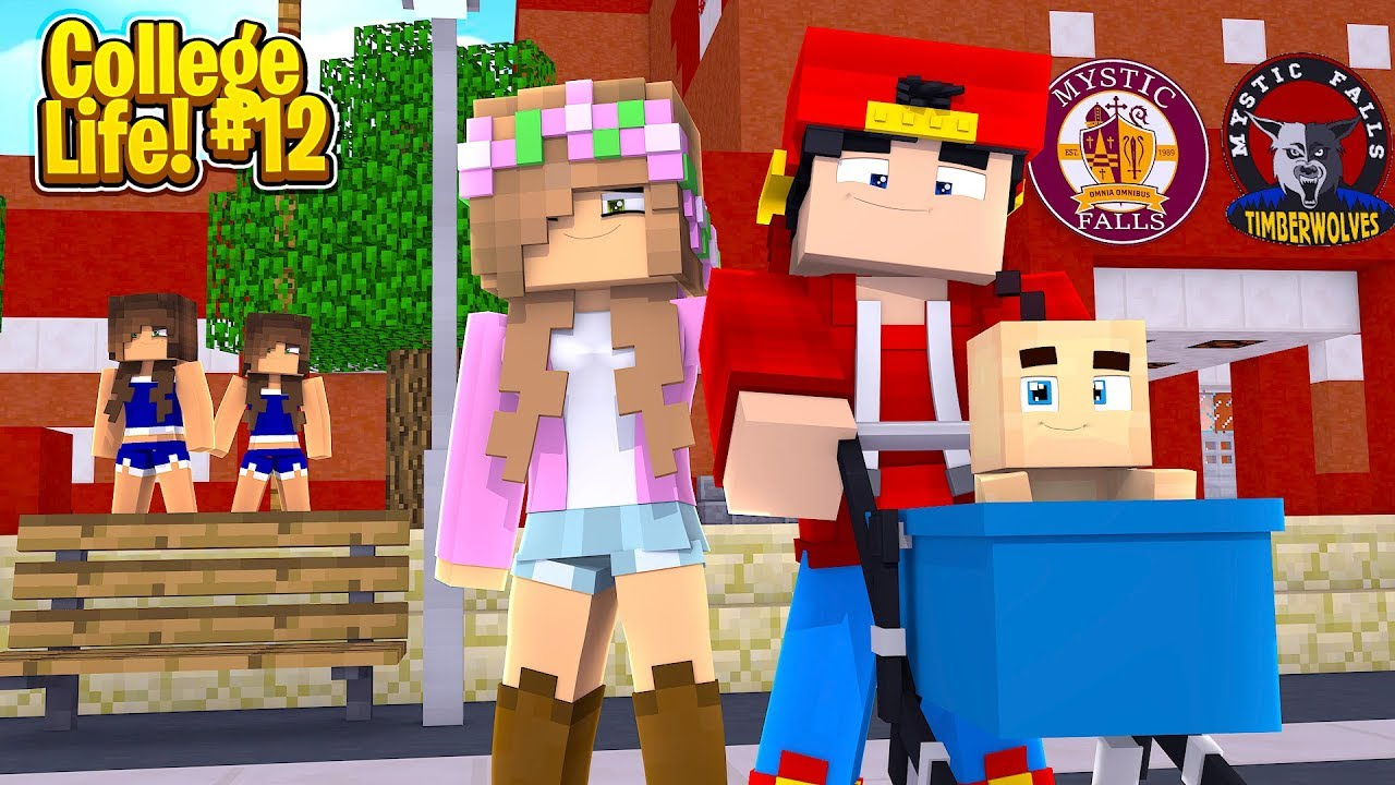 Minecraft College Life – ROPO & LITTLE KELLY HAVE A BABY!!