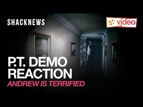 P.T Demo Reaction : Andrew is terrified!