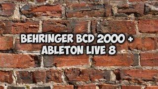 behringer bcd 2000 ableton live 8