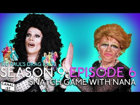 Snatch Game Ruview with Nana - RuPaul's Drag Race Season 9 Episode 6