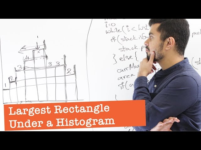 Largest Rectangle in a Histogram - Coding Interview Question