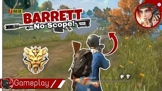 Barret no Scope - Rules of survival mobile