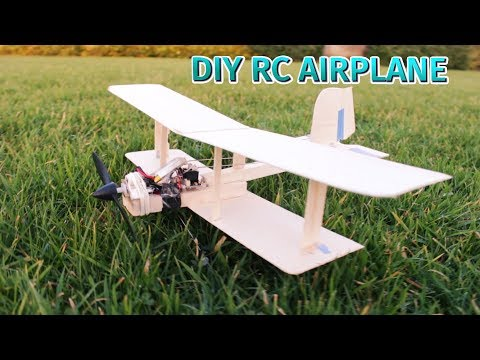 How to Make an RC Airplane with Recycled Parts