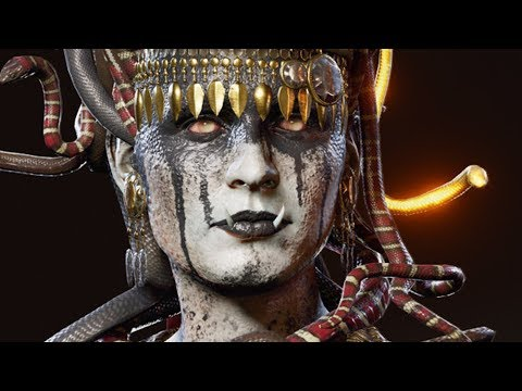 "MYTHICAL CREATURE ""MEDUSA"" BOSS in ASSASSINS CREED ODYSSEY Walkthrough Gameplay (AC Odyssey) thumbnail"