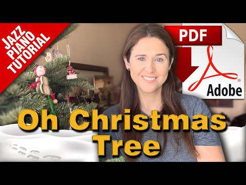 Oh Christmas Tree - Stride Jazz Piano Tutorial thumbnail