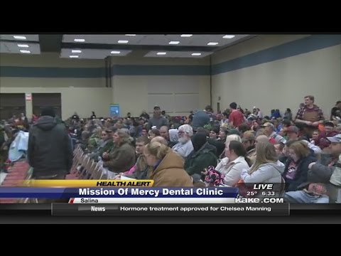 Mission Of Mercy Clinic Fills Salina Arena
