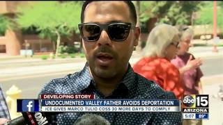 ICE gives undocumented father 30 more days to comply before possible deportation