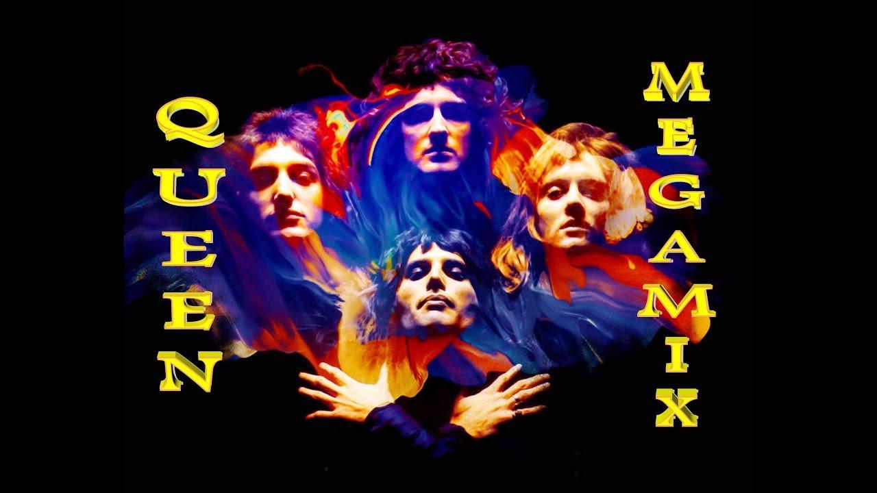 QUEEN MEGAMIX (Funk Rock, Disco, Pop Rock Hits)