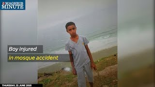 Boy injured in mosque accident dies