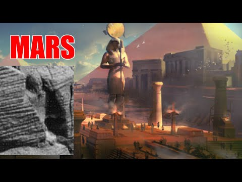Ancient Egyptian Artefacts Allegedly Spotted in Nasa's Photo of Mars