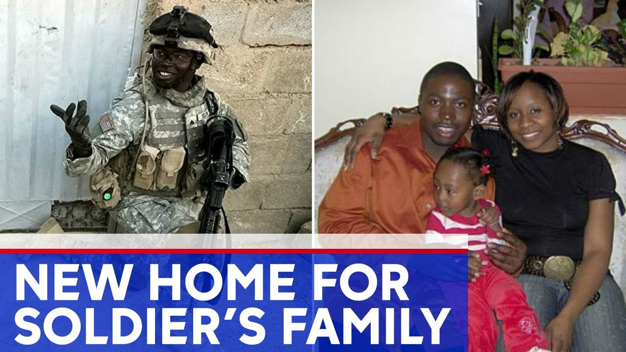 Fallen soldier's family gifted mortgage-free home in NYC