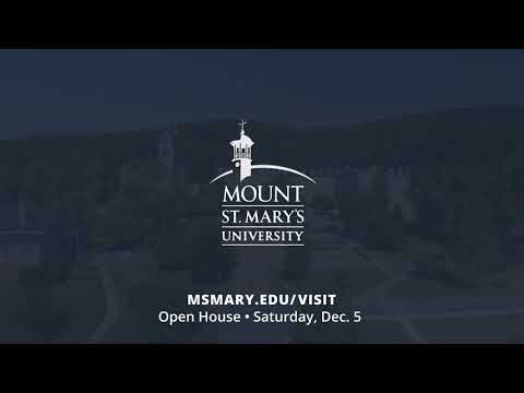 Visit Mount St. Mary's University!