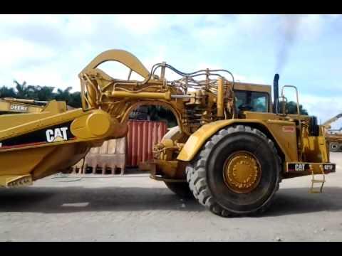 Motor Scraper Caterpillar Model 621F Year  2000