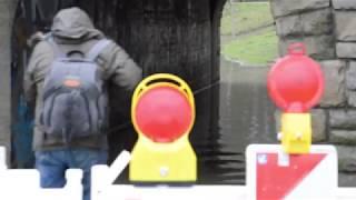 Aasee: Hochwasser in Münster führt zu Sperrungen