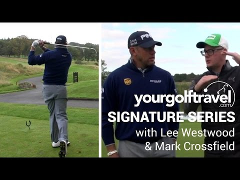 Close House Colt Course with Mark Crossfield & Lee Westwood - 9th Hole - Signature Hole Series