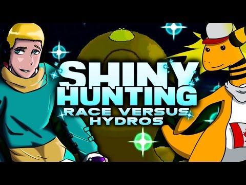 SHINY POKEMON RACE! JasonPlaysPokemon VS Hydros ORAS #ShinyHuntingRace LIVE!