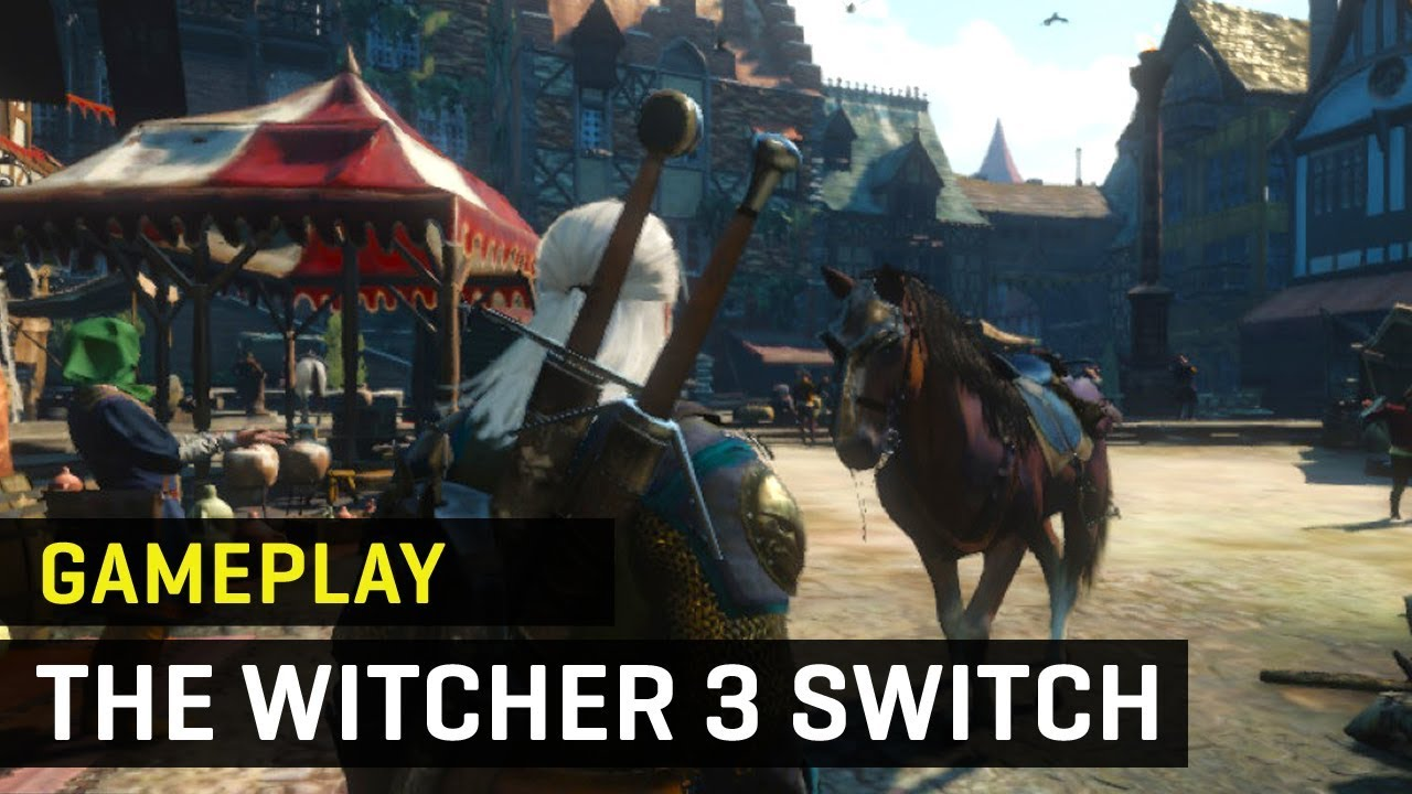 Gameplay THE WITCHER III en NINTENDO SWITCH
