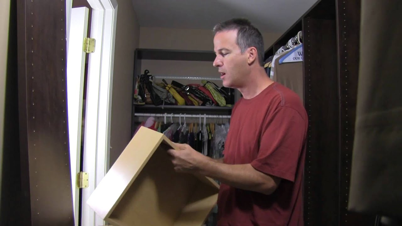 Before And After Closet Remodel Featuring Handyguys Podcast   YouTube