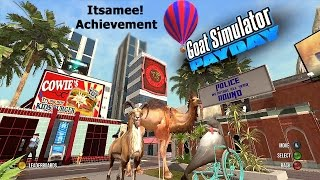 Goat Simulator PayDay DLC (Xbox) Itsamee! Achievement Guide