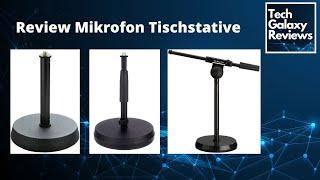 Review Mikrofon Tischstative - K&M 232, K&M 23325, IMG Stageline MS-100/SW
