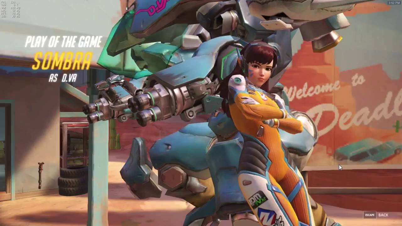 D.Va Quadruple POTG