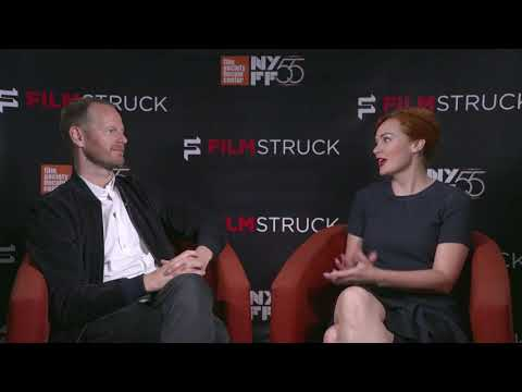 Joachim Trier & Alicia Malone at the 55th New York Film Festival
