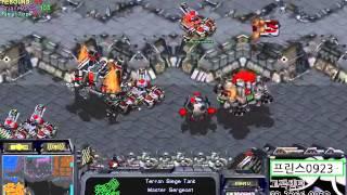 스타 빨무 1:1:1:1:1:1:1 개꿀잼 옵중계! 1번째 게임! (StarCraft Brood War Fastest Map 1v1v1v1v1v1v1 match 1set)