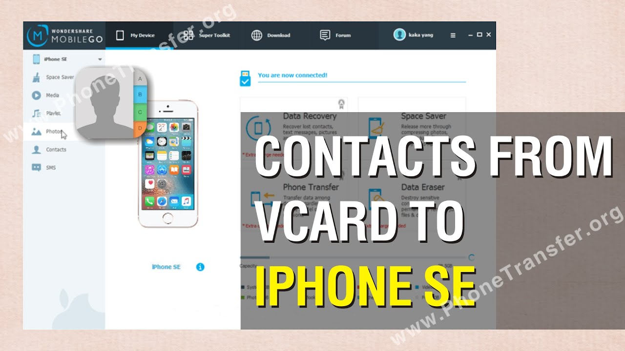 import vcf to iphone how to import contacts from vcard vcf to iphone se 7989