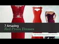 7 Amazing Red Prom Dresses Mermaid Silhouette Collection