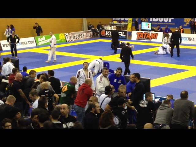 Lee McGrorty 2014 BJJ Europeans - 3rd Fight