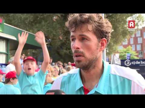 Interview Robin Haase na finale TEAN International 2016 in Alphen aan den Rijn