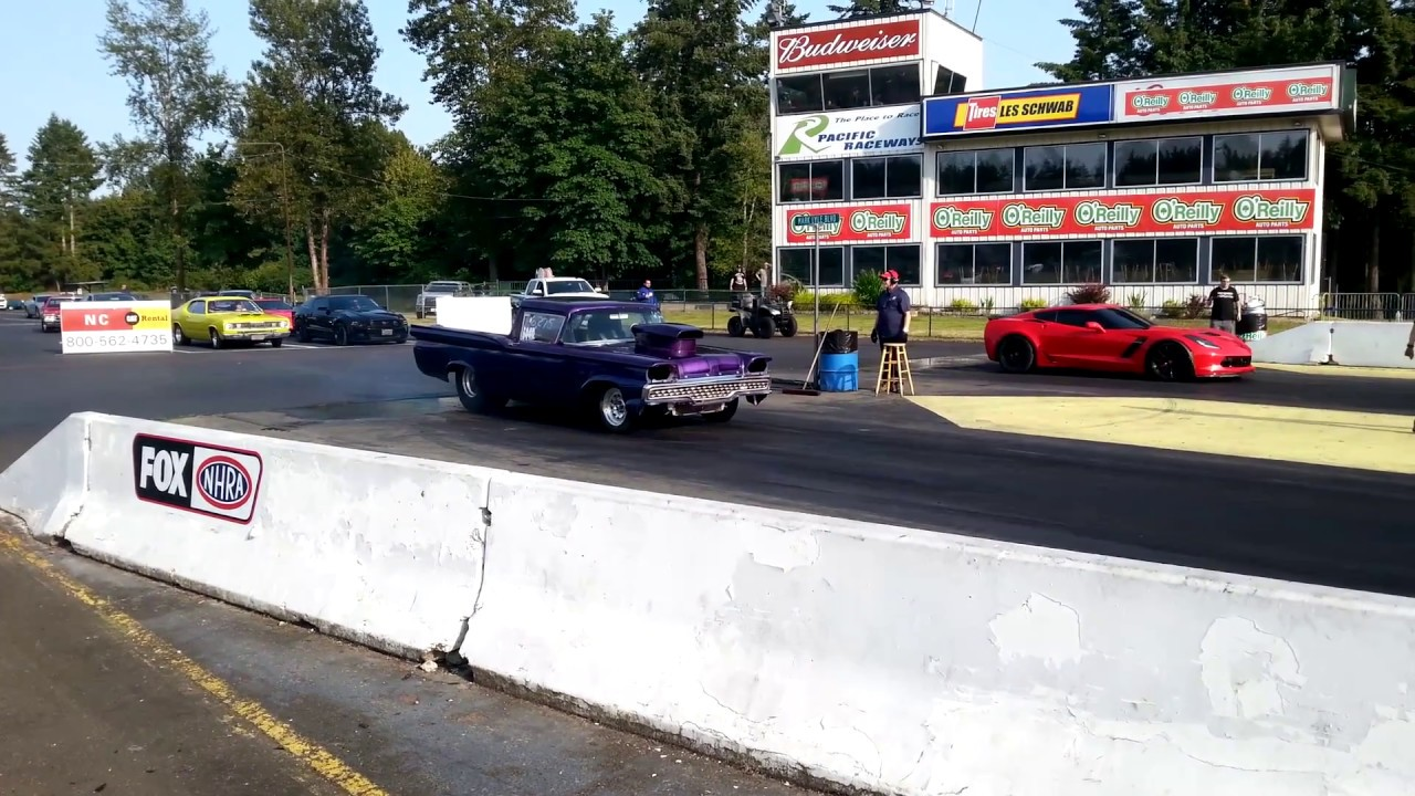 59 Ford Ranchero Drag Car