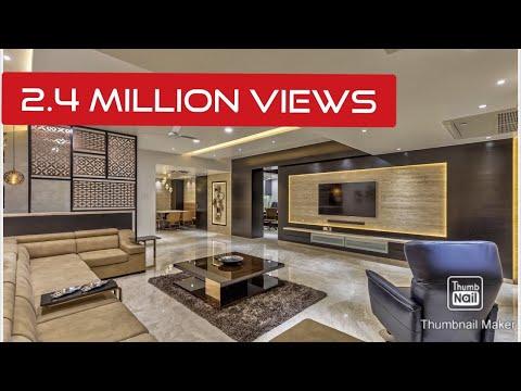 Modern 4000 sq ft 4 BHK home interiors by Rajesh Ranka