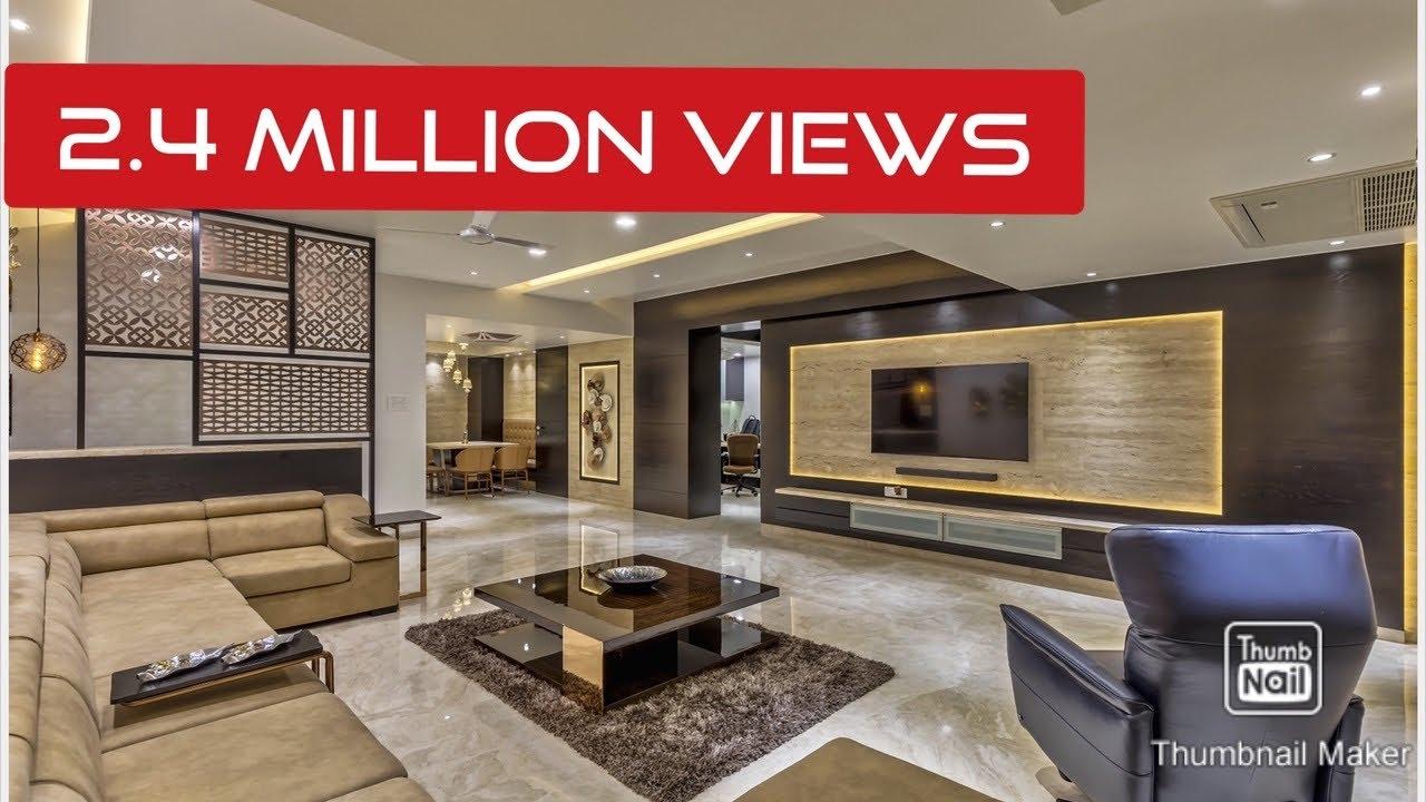 Modern 4000 Sq Ft 4 Bhk Home Interiors By Rajesh Ranka Youtube