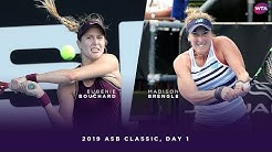 Eugenie Bouchard vs. Madison Brengle | 2019 ASB Classic Day 1 | WTA Highlights