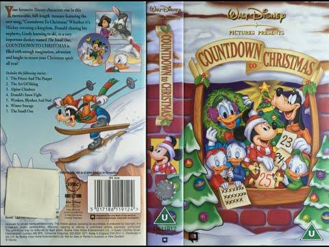 Countdown to Christmas 2002, UK VHS