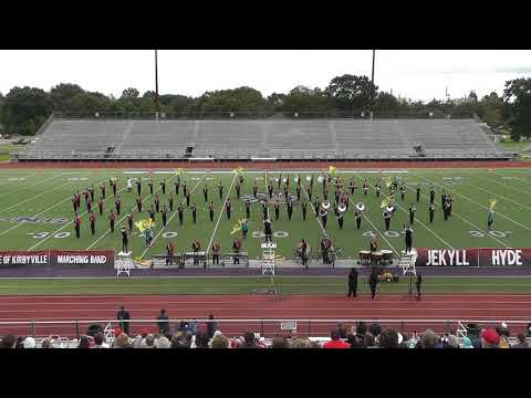 Kirbyville High School Band 2018 - UIL Region 10 Marching Contest
