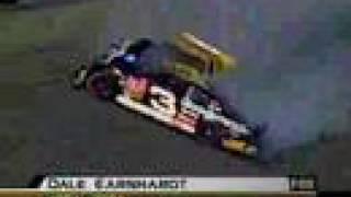 dale earnhardt-crash