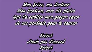 Download Slimane - Frérot Paroles MP3 song and Music Video