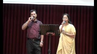 Usha Ravi singing Duet Kannada Song at Melbourne NTTF alumni 2012.