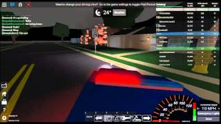 Roblox Ultimate Driving Town iz on fire FOR REALZ