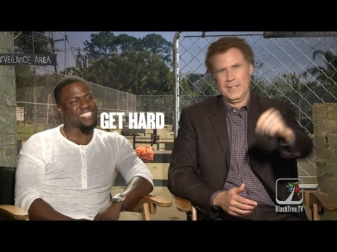 Kevin Hart and Will Ferrell hilarious interview GET HARD