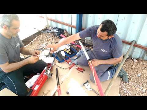 xlpe kablo başlık yapımı