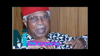 Ekwueme: buhari, shagari, obj, jonathan, ibb, others pay glowing tributes