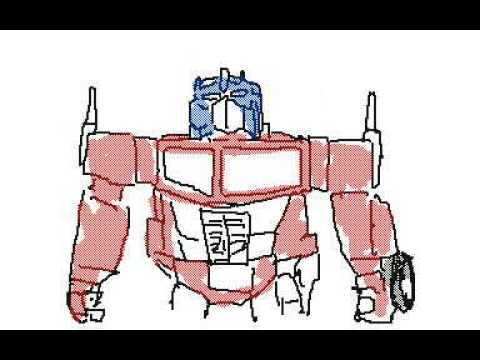 Transformers Age Of Extinction Flipbook Animation! Made By Nintendo 3DS [Transformers]