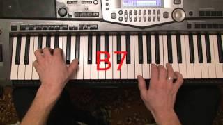 Видеоурок на синтезаторе