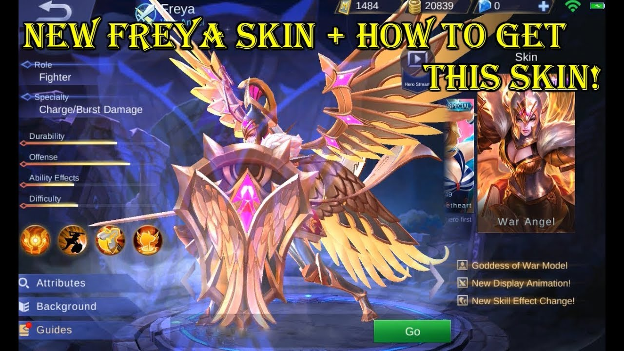 Mobile Legends New Freya Skin How To Get This Limited Time Event
